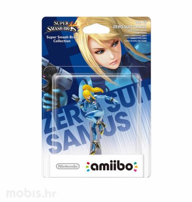 Igra Amiibo Super Smash Bros Zero Suit Samus no 40