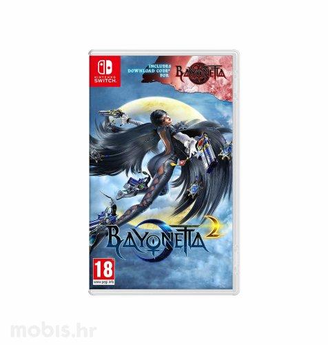 Igra Bayonetta 2 (+ Bayonetta 1 digital) za Nintendo Switch