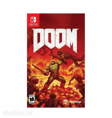 Igra Doom za Nintendo Switch