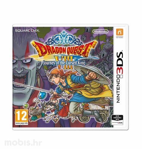 Igra Dragon Quest VIII: Journey of the Cursed King  za Nintendo 3DS