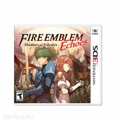 Igra Fire Emblem Echoes Shadows of Valentia  za Nintendo 3DS
