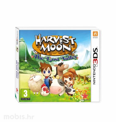 Igra Harvest Moon The Lost Valley za Nintendo 3DS