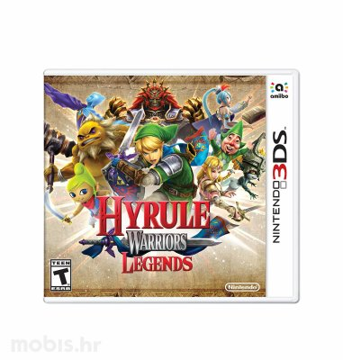 Igra Hyrule Warriors Legends za Nintendo 3DS