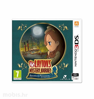 Igra Layton's Mystery Journey Katrielle and The Millionaires Conspiracy za Nintendo 3DS