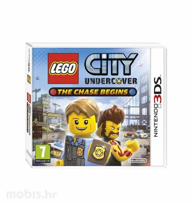Igra Lego City Undercover: The Chase Begins za Nintendo 3DS