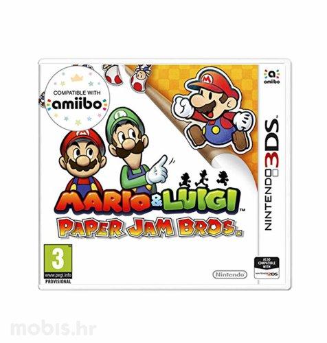 Igra Mario & Luigi Paper Jam Bros za Nintendo 3DS