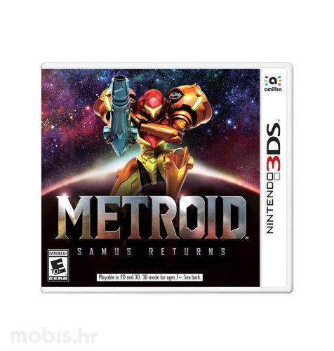 Igra Metroid Samus Returns za Nintendo 3DS