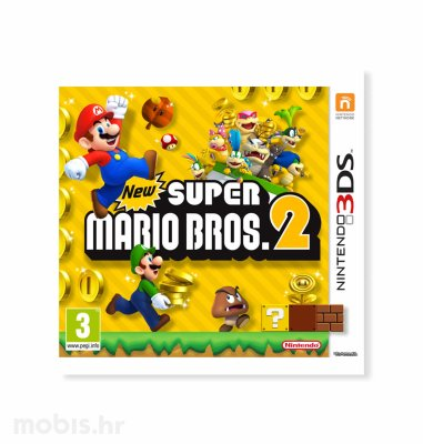 Igra New Super Mario Bros 2 za Nintendo 3DS