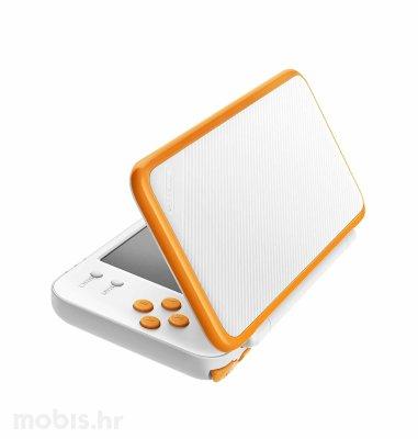 Nintendo 2DS XL konzola: bijela i narančasta