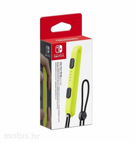Nintendo Switch Joy-Con Strap sigurnosna vezica: neon žuta