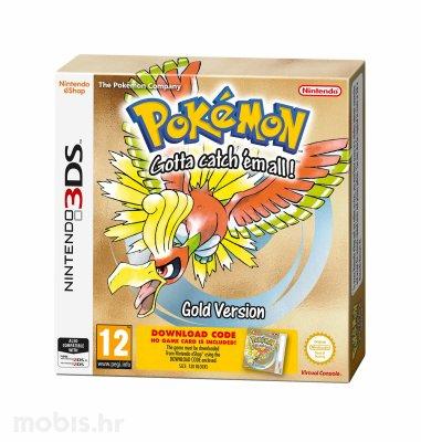 Pokemon Gold kôd za Nintendo za Nintendo 3DS