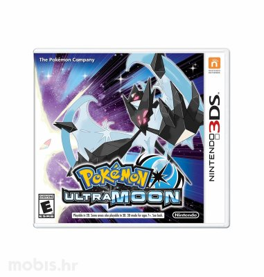 Igra Pokemon Ultra Moon za Nintendo 3DS