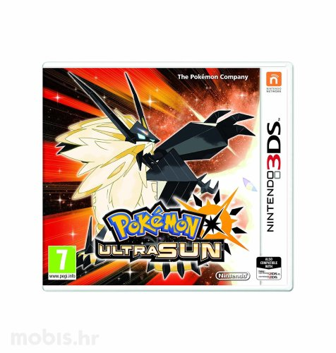 Igra Pokemon Ultra Sun za Nintendo 3DS