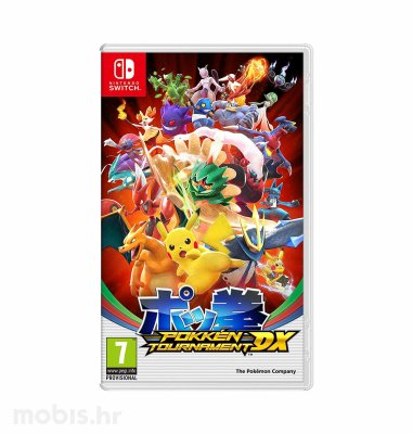 Igra Pokken Tournament DX za Nintendo Switch