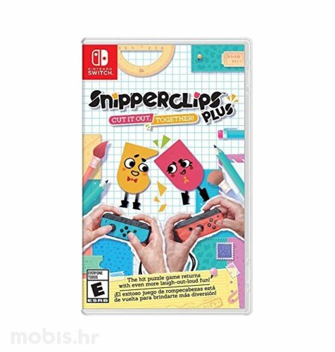 Igra Snipperclips Cut It Out Together za Nintendo Switch