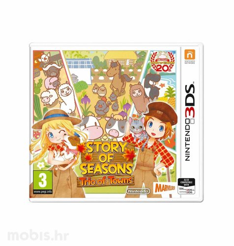 Igra Story of Seasons Trio of Towns za Nintendo 3DS