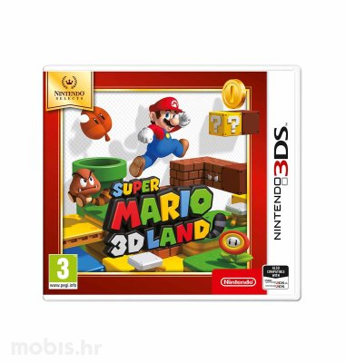 Igra Super Mario 3D Land za Nintendo 3DS