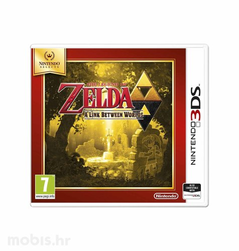 Igra The Legend of Zelda: A Link Between Worlds za Nintendo 3DS