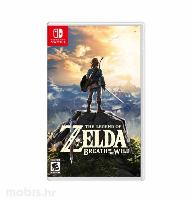 Igra The Legend of Zelda: Breath of the Wild za Nintendo Switch