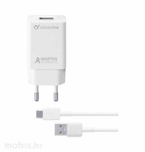 Cellular Line kućni punjač Samsung i kabel USB-C