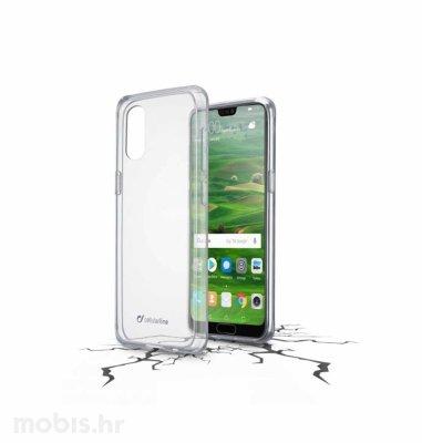 Cellular line plastična zaštita za uređaj Huawei P20: prozirna