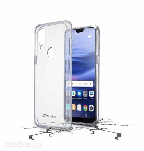 Cellular line plastična zaštita za uređaj Huawei P20 lite: prozirna