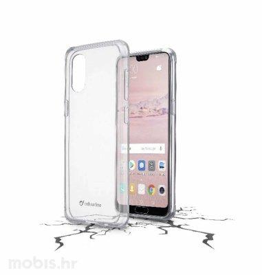 Cellular line plastična zaštita za uređaj Huawei P20 Pro: prozirna