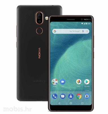 Nokia 7 plus Dual SIM: crna