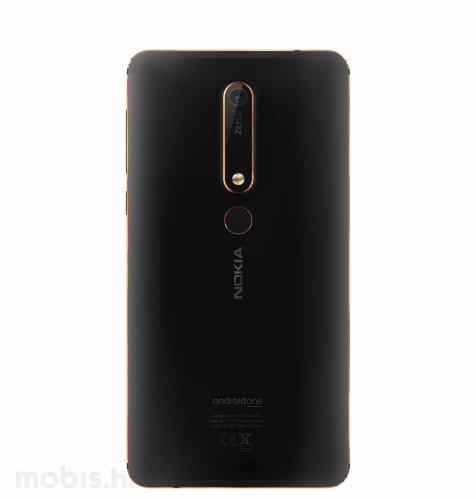 Nokia 6.1 Dual SIM: crna