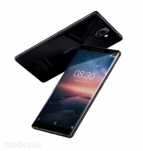 Nokia 8 Sirocco: crna
