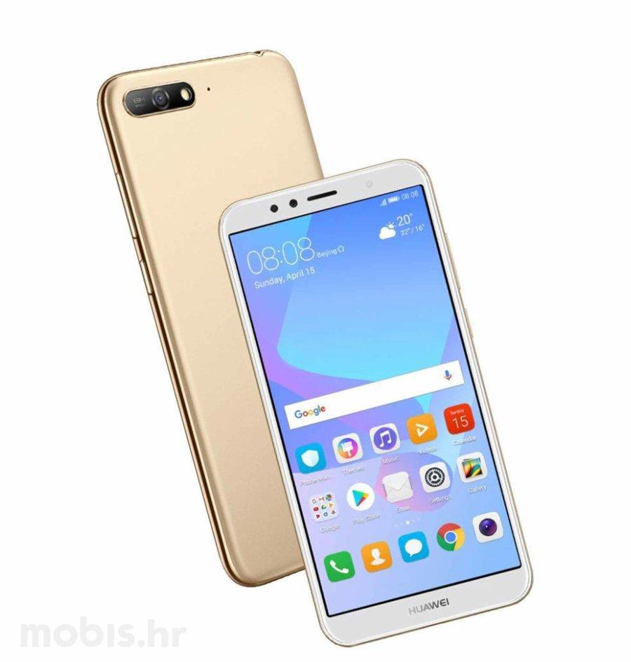 Huawei Y6 2018 Dual Sim Zlatni Mobiteli