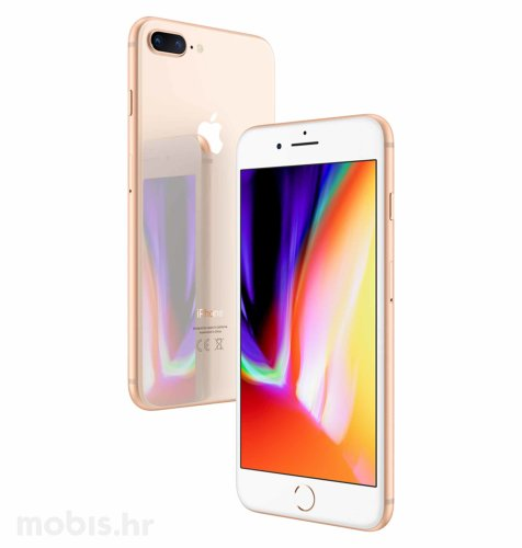 Apple iPhone 8 Plus 64GB: zlatni