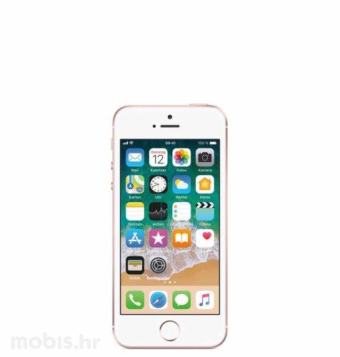 Apple iPhone SE 128GB: zlatno rozi