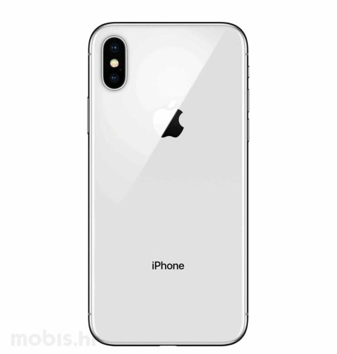 Apple iPhone X 256GB: srebrni