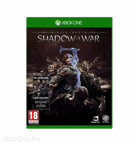 "Middle Earth ""Shadow of War"" igra za Xbox One"
