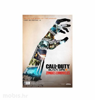 "Call of Duty ""Black Ops III Zombies Chronicles"" HD Edition igra za Xbox One"