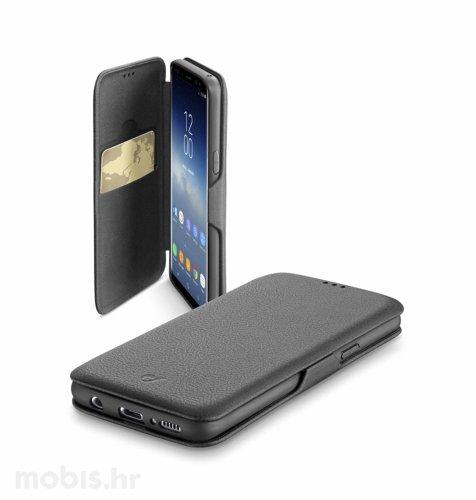 Preklopna maskica za uređaj Samsung Galaxy S9: crna