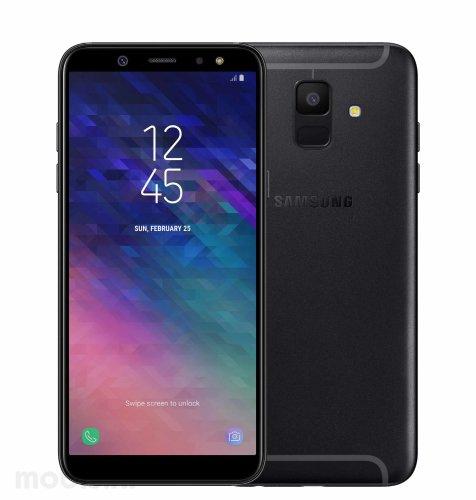 Samsung Galaxy A6 2018 Dual SIM: crni