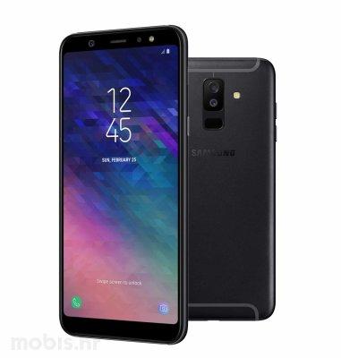 Samsung Galaxy A6+ 2018 Dual SIM: crni
