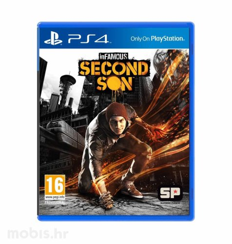 InFamous Second Son igra za PS4