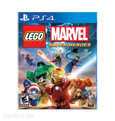 Lego Marvel Super Heroes igra za PS4