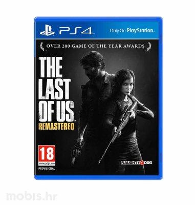 The Last of Us Remastered igra za PS4