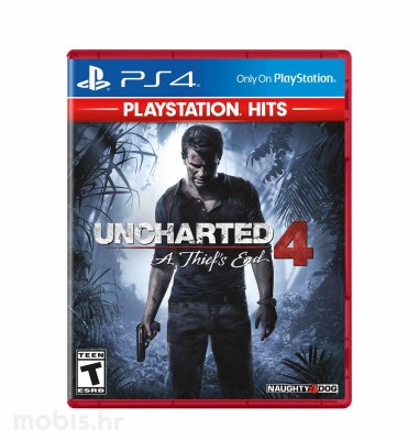 "Uncharted 4 ""A Thief's End HITS"" igra za PS4"