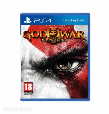 God of War 3 Remastered HD igra za PS4