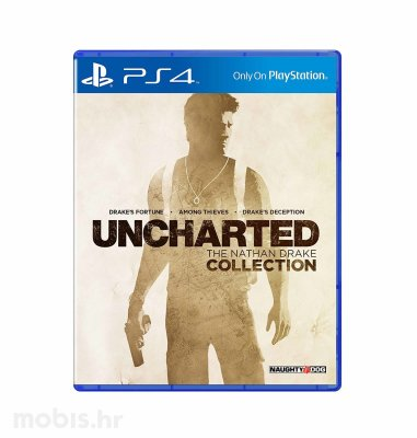 "Uncharted ""The Nathan Drake Collection"" igra za PS4"