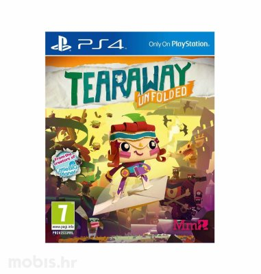 Tearaway Unfolded Standard Plus Edition igra za PS4