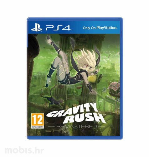 Gravity Rush Remastered igra za PS4