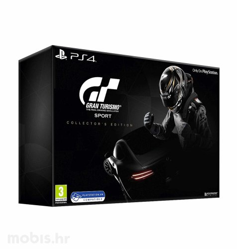 Gran Turismo Sport Collector's Edition igra za PS4