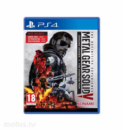 Metal Gear Solid Definitive Experience igra za PS4