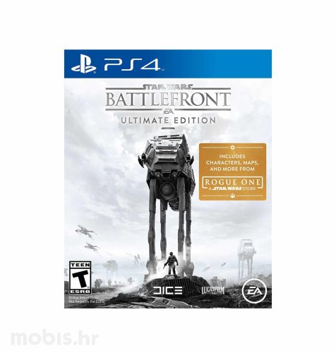 "Star Wars ""Battlefront Ultimate Edition"" igra za PS4"
